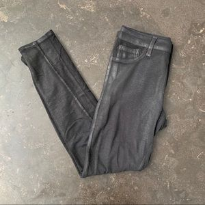 Tinsel Coated stretchy skinny pant. Size 26